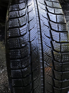 New Michelin Latitude X-Ice 235/60 R18 With Rims Installed