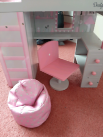Our generation doll, bedroom set and clothing (£200 to buy new)