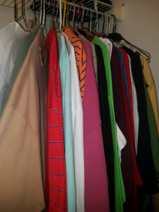 MENS LIGHTLY USED CLOTHES