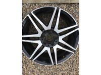 Mercedes AMG front alloy wheel