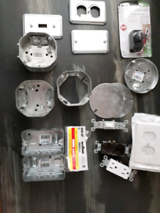 Lot of new  Electrical items