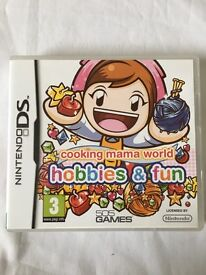 Nintendo DS Game- Cooking Mama World