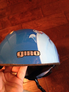 Kids Fun Helmet with winter scene $15