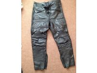Motorcycle leather trousers 36