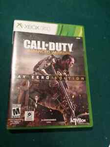 Xbox 360 call of duity advanced warfare game Stratford Kitchener Area image 1