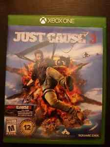 JUST CAUSE 3 FOR XBOX ONE  Kitchener / Waterloo Kitchener Area image 1