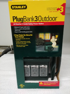 All Weather 3 Outlet Safety Power Station