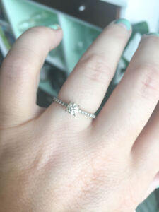 Diamond Engagement Ring (or trade-up credit at Spence)