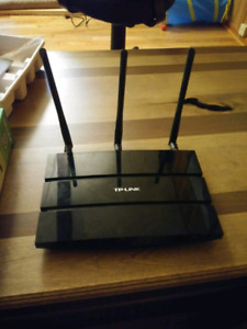 Tp link AC 1750 dual band wireless router