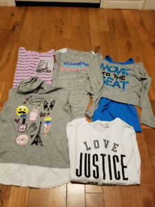 Justice girls shirts