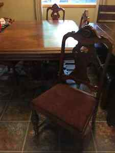Antique Table & chairs Peterborough Peterborough Area image 1