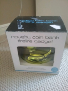 Novelty coin bank