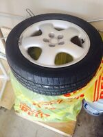 Chrysler PT Cruiser rims on seasonal tires