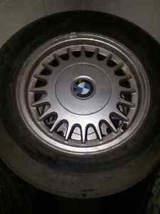 """Bmw summer tires and Rims 15"""""""