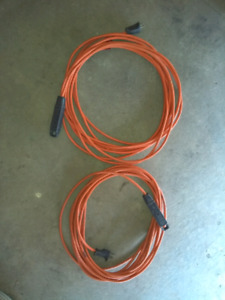 2 - extension cords