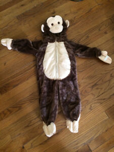 Size 2 Monkey Halloween Costume