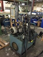 2 Stations moteur hydraulique 7.5 hp