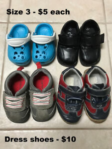 Toddler Boys Shoes Size 3