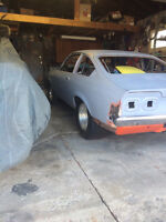 1973 CHEVROLET VEGA ROLLING CHASSIS**REDUCED**