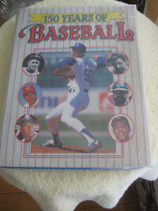 "SPORTSMAN'S VINTAGE COLLECTIBLE BOOK..""150 YEARS of BASEBALL"""
