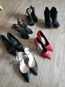 Name brand shoe lot for sale.