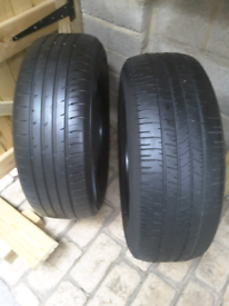 235 65 17 tyres hankook and goodyear