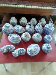 Varieties Ceramics for sale to donate to Lombok Isd, Indonesia