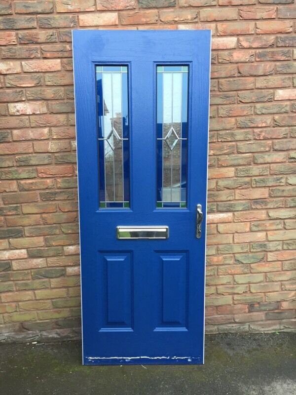 Composite front door Oxford blue | in Yate, Bristol | Gumtree