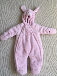 Baby Girl Bunny Outfit