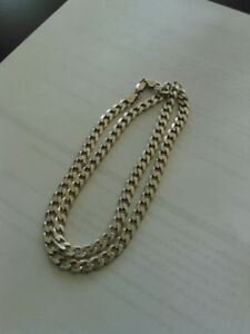 Men  925 italy silver chain