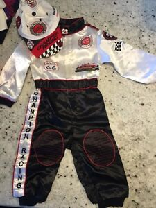 12 Month Car Racer Costume