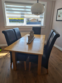 Designer Rooms Dining Table & Chairs