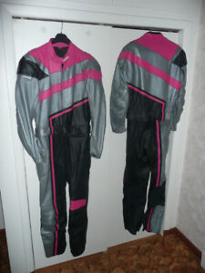 Motorcycle leather suit - 2 piece - European style