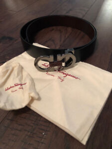 Salvatore Ferragamo Men's Giancini Reversible Belt - One Size
