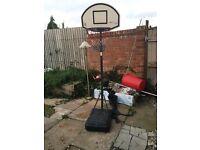 Large basket ball hoop