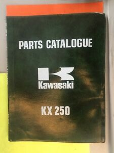 1974 Kawasaki KX250 Parts Catalogue