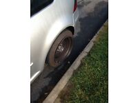 "Banded steels vw 16"" stretched tyres swap"