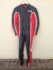 """""""Dainese"""" Two Piece Motorcycle Suit Men's Size 50 Euro"""