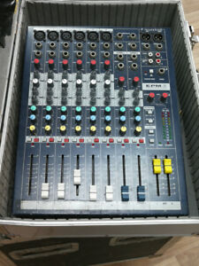 Soundcraft EPM6, 6 Channel Console