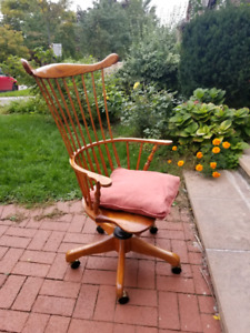 Vintage woden office chair