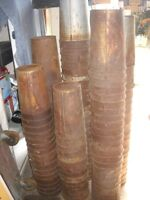 OLD MAPLE SYRUP TIN PAILS