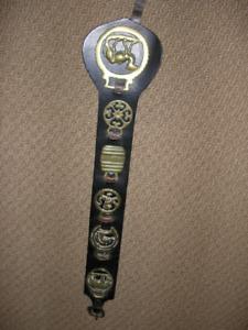 Set of 6 Vintage English Brasses - Horse Tack Harness Bridle Med