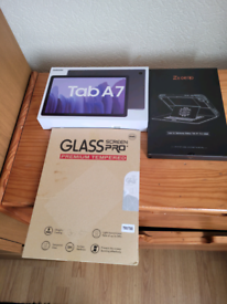 "SAMSUNG TAB A7 10.4"" TABLET(2020).NEW BOXED + PREMIUM CASE NEW BOXED."