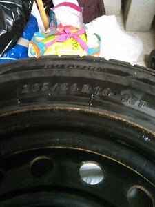 Like new winter tires and rims