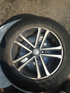 4 Tires With Rims $100 each. 215/60P16 95T