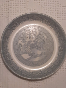 BLUE WILLOW MELMAC collectible plates