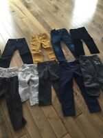 Brand name little boys clothes size 5-6