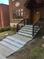 PAVER - CLEAN & REPAIR - DRIVEWAYS - PATIOS - STEPS 514-967-6650