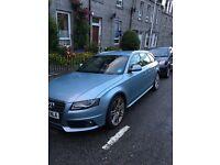 Audi A4 Avant - 12 months MOT, Blue S Line Estate , 80,000miles, excellent condition