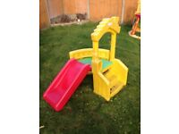 Little tikes climb and slide
